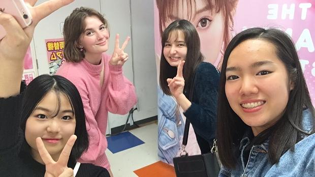 Gruppbild med kompisar