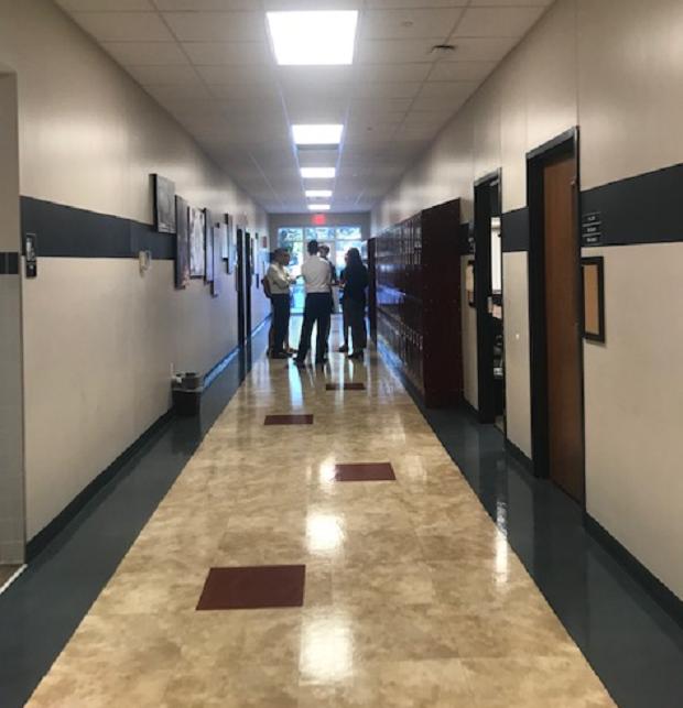 korridor på high school
