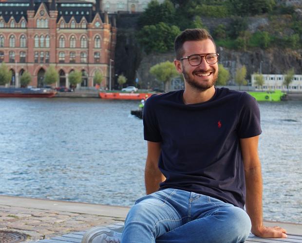 Italiensk utbytesstudent i Sverige