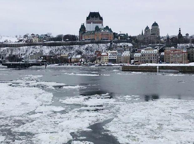 Vinter i Kanada