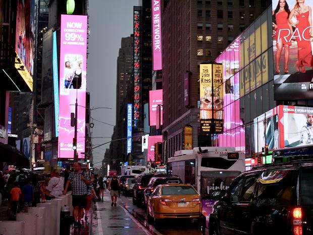 New York kvällstid