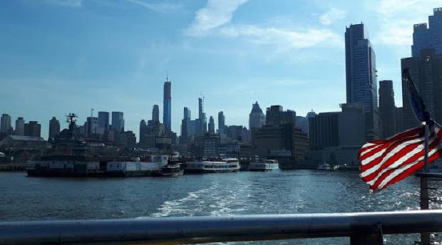 Båttur i New York
