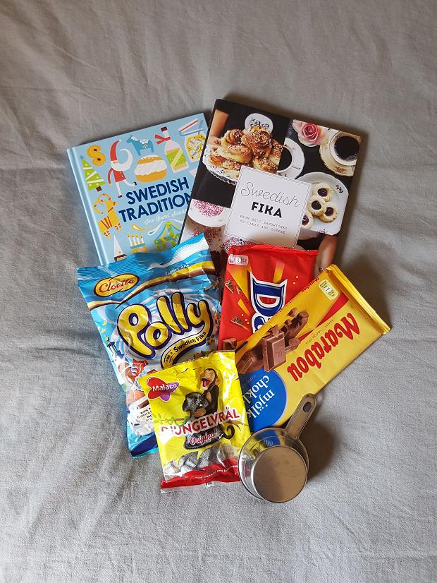 Utbytesstudent tar med svenskt godis