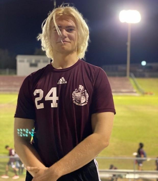Profilbild på Douglas som spelar fotboll i Alabama, USA