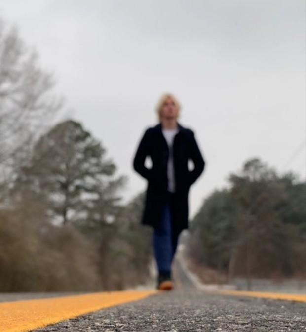 Douglas walking in Alabama, USA