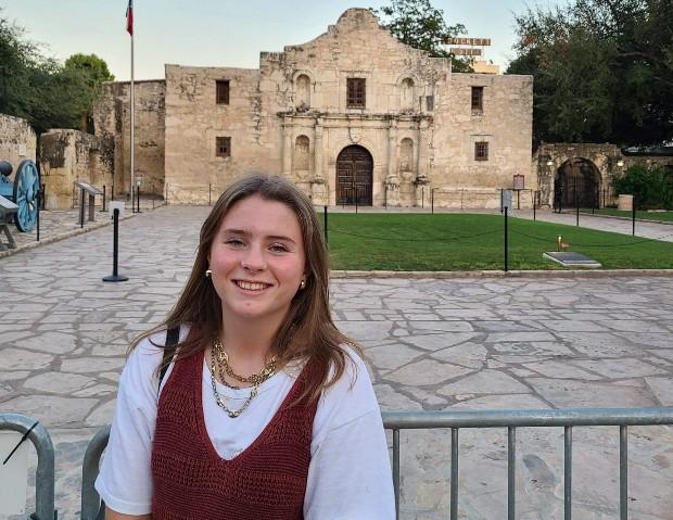 Ellen som utbytesstudent i Texas, USA