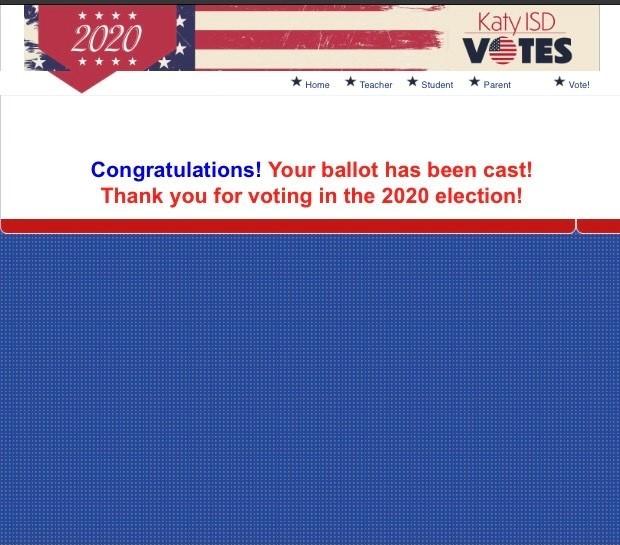 Röstning i det amerikanska valet 2020