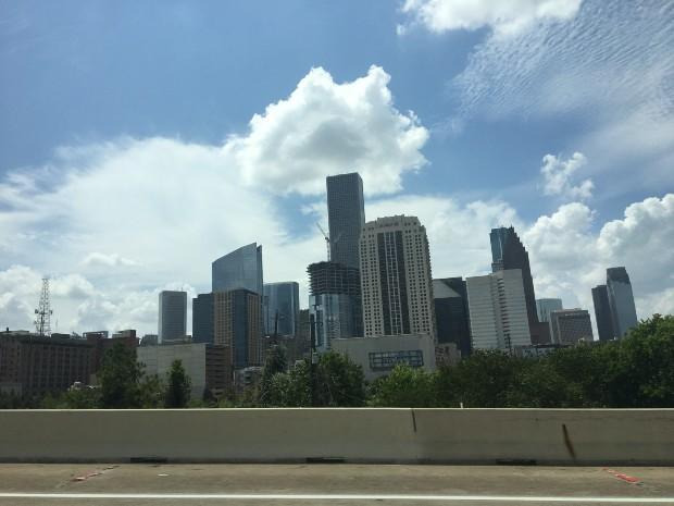 Skyline of Texas, USA