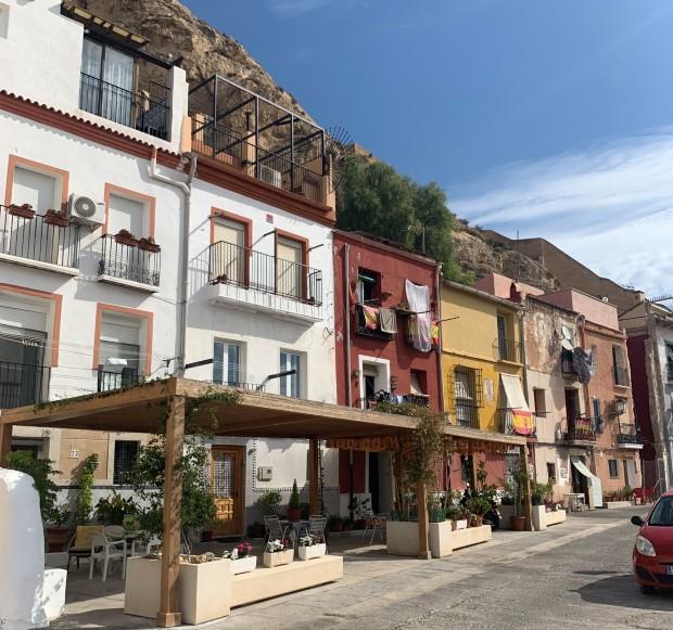 Centrum i Alicante, Spanien