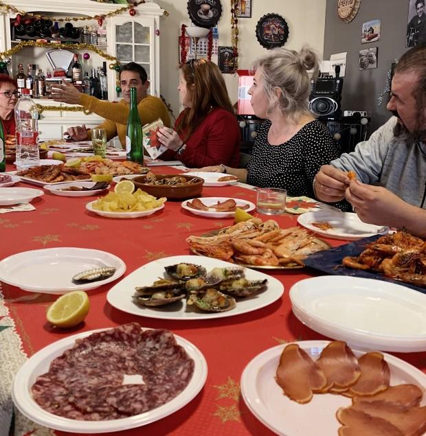 Middag spansk julafton