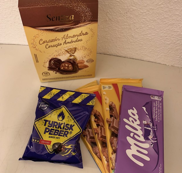 Svenskt godis på födelsedag
