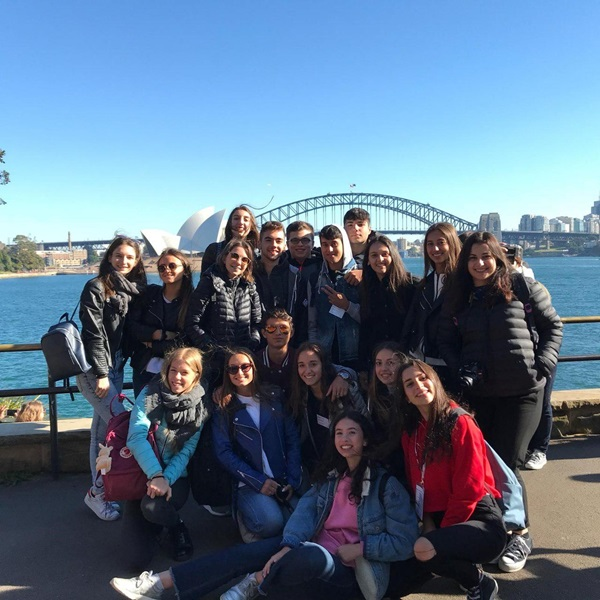 Exchange student al camp di Sydney
