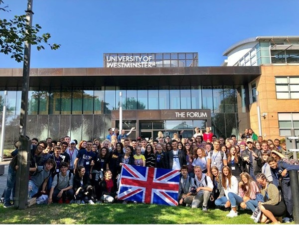 Welcome days in Inghilterra con gli exchange student