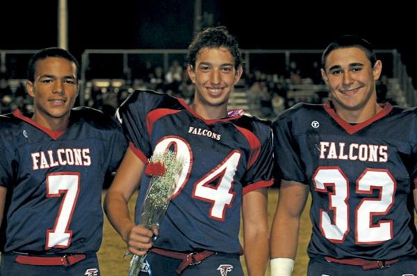 Exchange Studeni in USA con la divisa dei Falcons