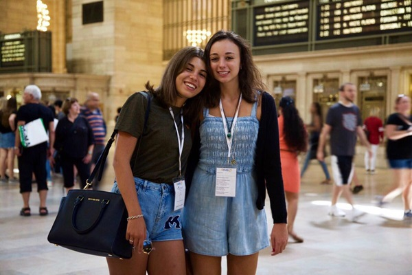 Programma Itaca exchange student in USA NY Central Station