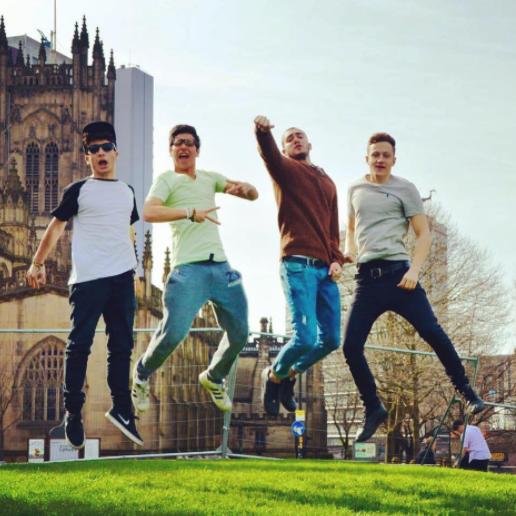 Il programma Itaca ha creato l'occasione di incontrare exchange student da tutto il mondo girando il Regno Unito insieme a loro