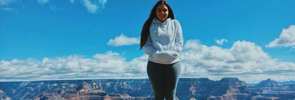 Educatius student visiting the Grand Canyon!