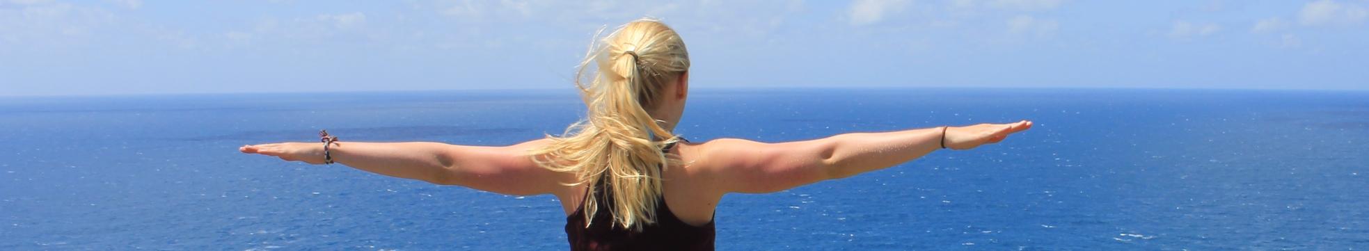 Australien Mädchen Rücken Aussicht