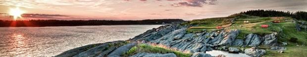 costa della Nuova Scotia in Canada
