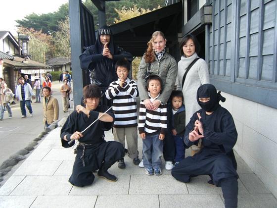 Japan Girl, host family and ninjas