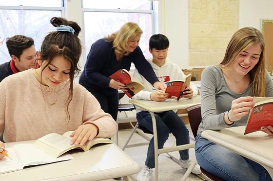 Unterricht an der Washington Academy