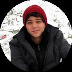 International student Filipe from Brazil