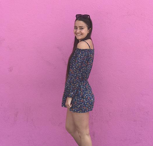 Candice from France attending Oak Park High School Public School California USA 2017
