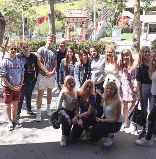 Student Blogger Candice from France attending Oak Park High School 2017 California USA