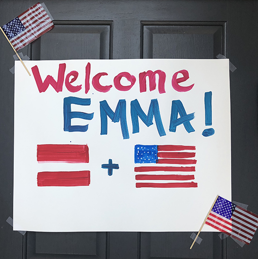 Emma- Welcome to US- SB