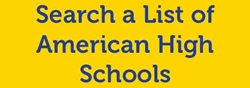 Search a List of American High Schools