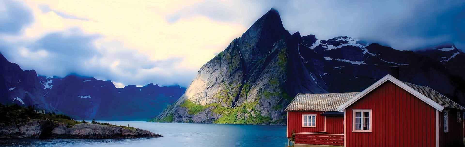 来挪威的中学学习吧!