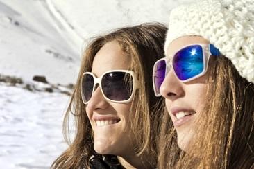 在智利滑雪