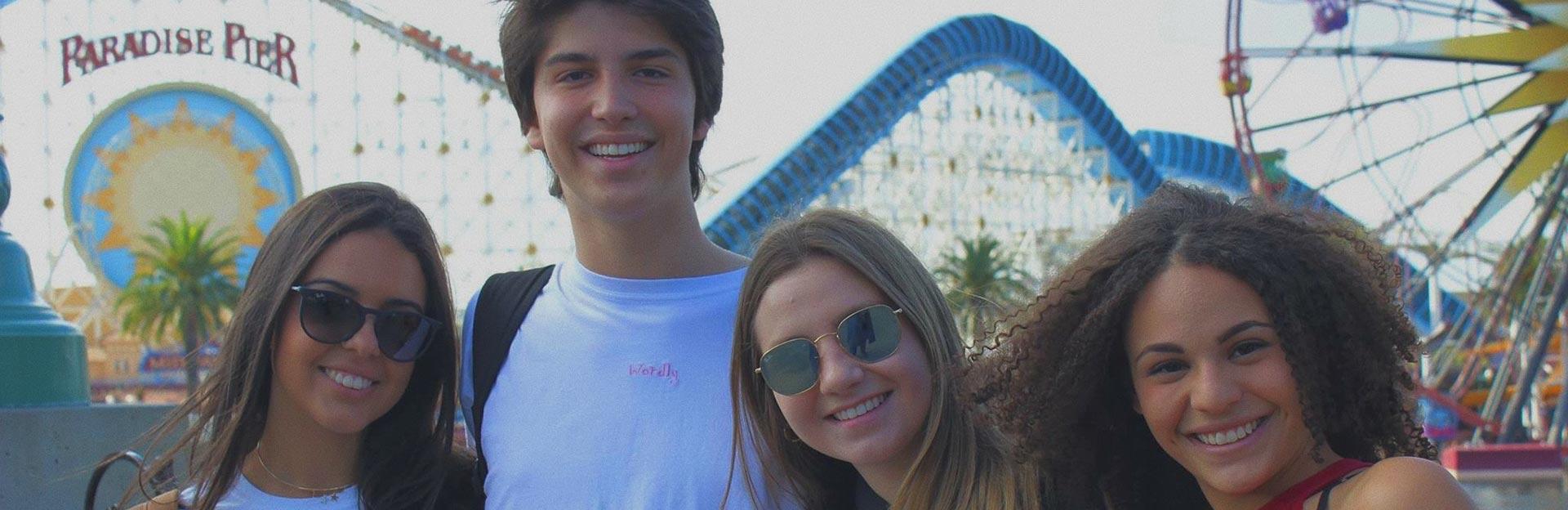 Educatius students enjoy a weekend at Paradise Park, in California