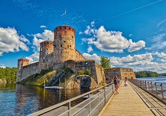 Historic castle in Finland