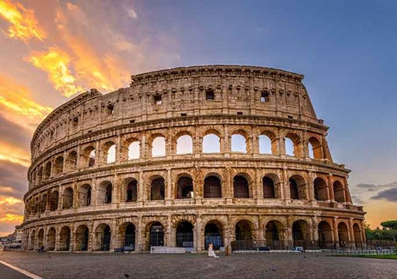 See the Roman Colosseum in Italy!
