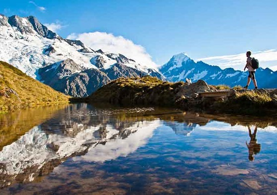 The great mountain ranges of New Zealand