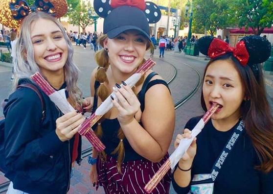 Educatius students enjoying Disneyland