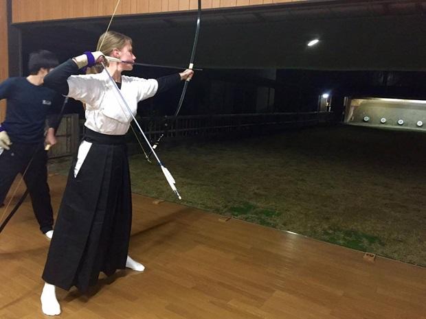 utbytesstudent katja japan sport