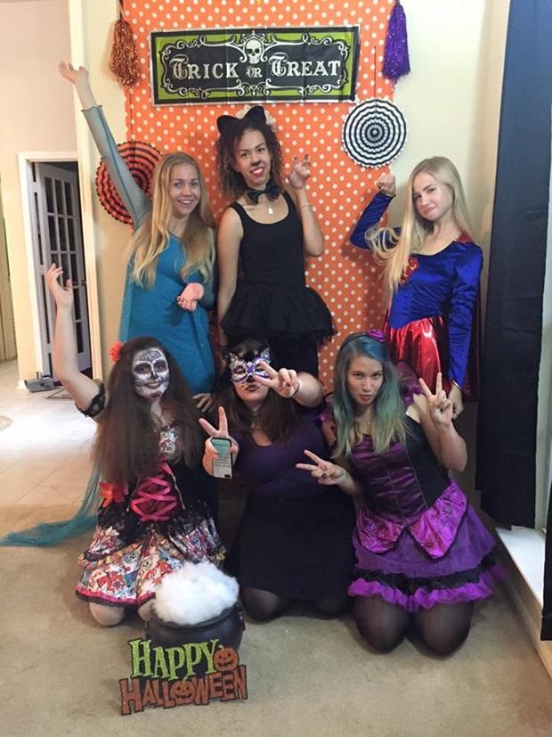 halloween utbytesstudent i usa