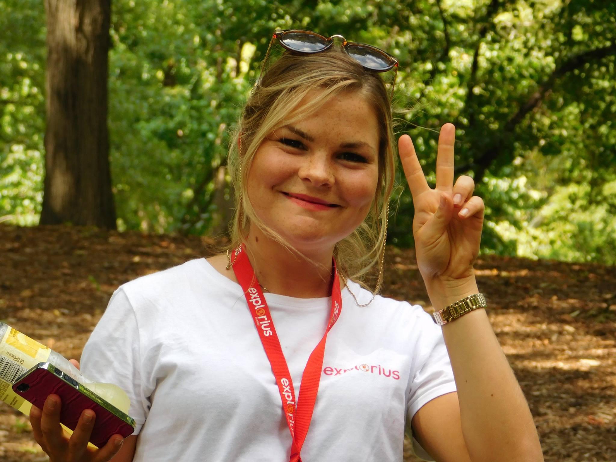 Explorius på Soft Landing Camp for utvekslingsstudenter i USA