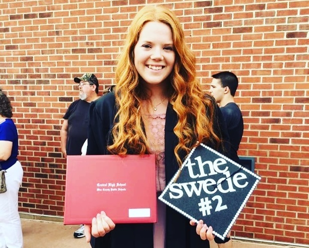 graduation high school utbytesstudent