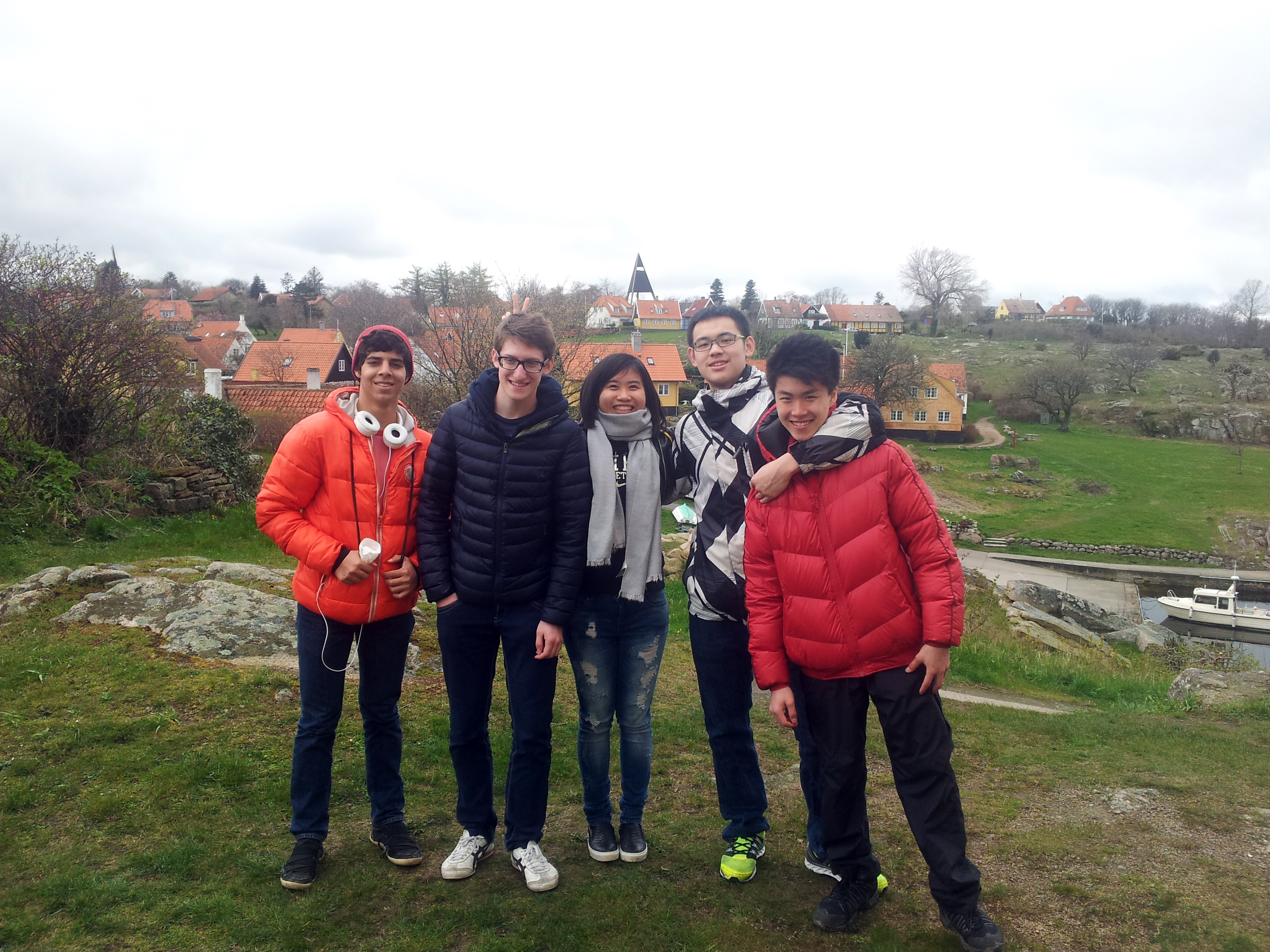 Inbound students on easter break in Denmark