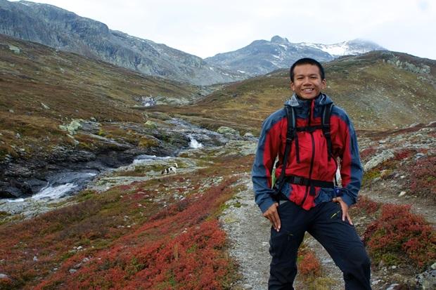 Saw fra Thailand på utveksling i Norge