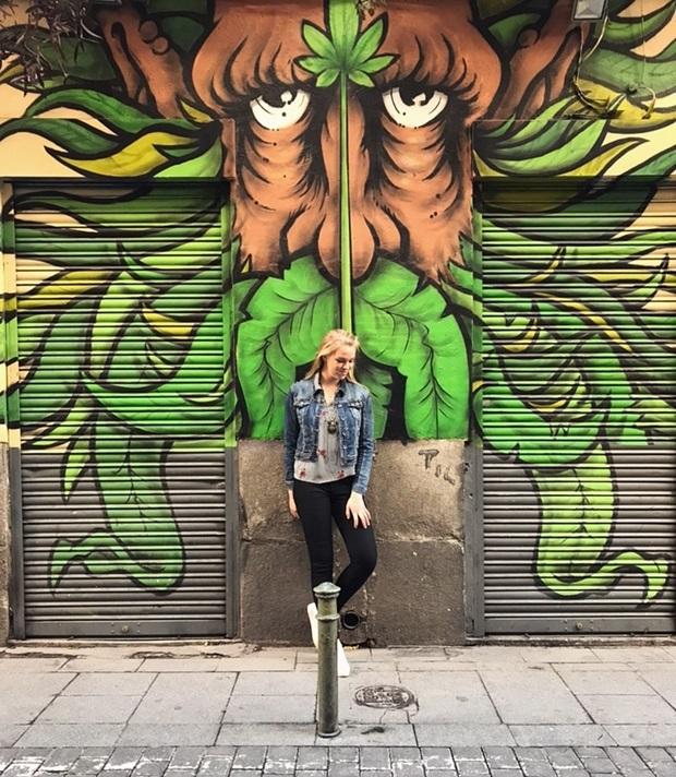Upea Graffiti Espanjassa