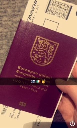 Lähdössä Irlantiin
