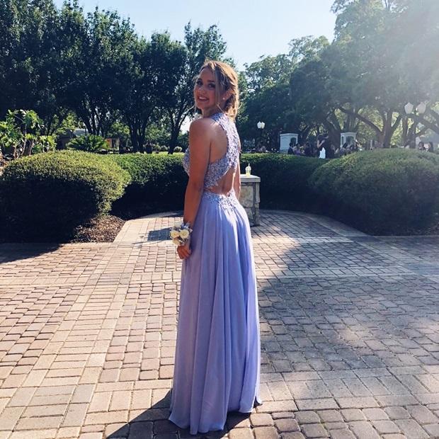 Vaihto-oppilaan Prom-mekko