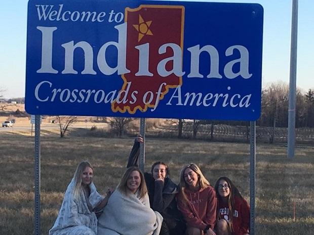 Kaverukset Indianassa