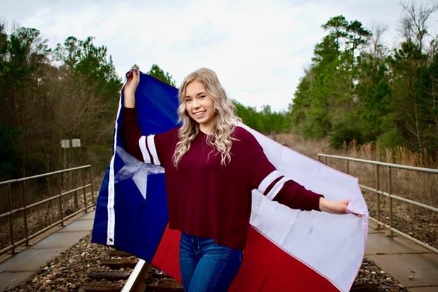 Vaihto-oppilas ja Teksasin lippu