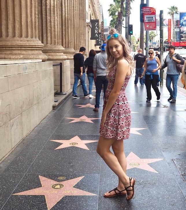 Vaihto-oppilaan matka Hollywoodiin