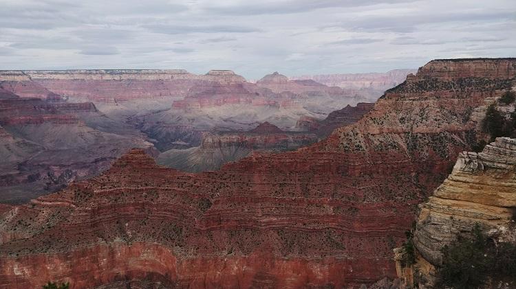 Vaihtari Grand Canyonilla